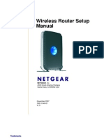 WNDR3300 Setup Manual