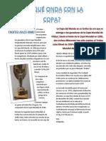 El Trofeo Jules Rimet Fue El Premio Original Para Los Ganadores de La Copa Mundial