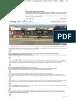Como usar as imagens do recurso Street View para aplicar texturas de foto a edifícios