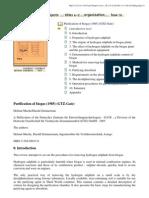 Purification of Biogas