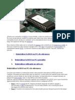 Sobre Contraseñas del BIOS.