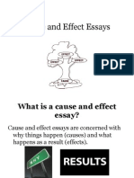 cause and effect essay causality violence cause and effect powerpoint