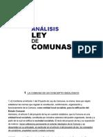 Analisis Ley de Comunas