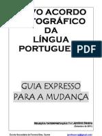 Novo Acordo Ortográfico - versão 26-08