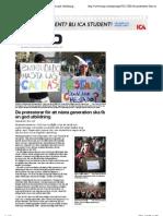 De protesterar för att nästa generation ska få en god utbildning | Ergo