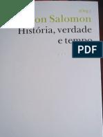 Estevão Rezende Martins - Tempo e Verdade. In Marlon Salomon - Historia verdade tempo