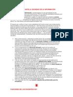 LOS FORMADORES ANTE LA SOCIEDAD DE LA INFORMACIÓN-1