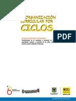 2° edición del libro de Reorganización Curricular por Ciclos