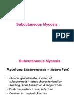 Subcutaneous Mycosis 06-07