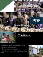 Ghanaian Cuisine and Food Culture