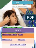 infeciones respiratorias altas pediatria