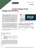 Cara Membuat Button Badge Untuk Blogger Dan Wordpres