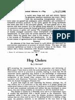 Jurnal Hog Cholera