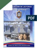 Selección de Lecturas Unidad 1 - Mat-CIU (Reales) 07-12-2007