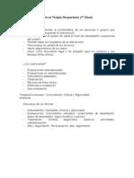 Evaluación y Registro en T.O