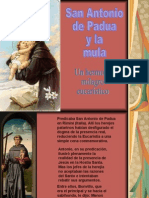 San Antonio de Padua y La Mula