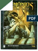 MB Demônios a Divina Comédia 3ª ed com extras da 1ª ed