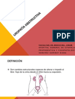 UroPatía obstructiva