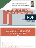 Oxigeno y Efectos de La Hipoxia.