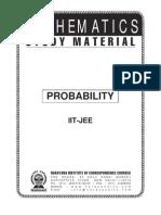 IIT Class XII Maths Probability