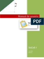 Manual de Usuario Siscoe-i