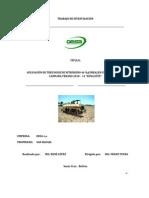 Aplicación de tres dosis de nitrógeno 46% (UREA) en MAIZ
