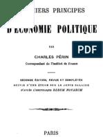 Premiers Principes d Economie Politique