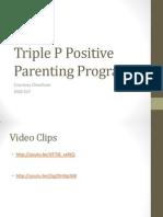 Triple P Positive Parenting Program