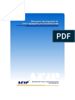 33.- AFIP - Recupero del Impuesto al Valor Agregado por X