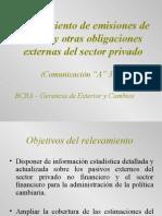 COMUNICACION 3602 - 2.0. A - BCRA
