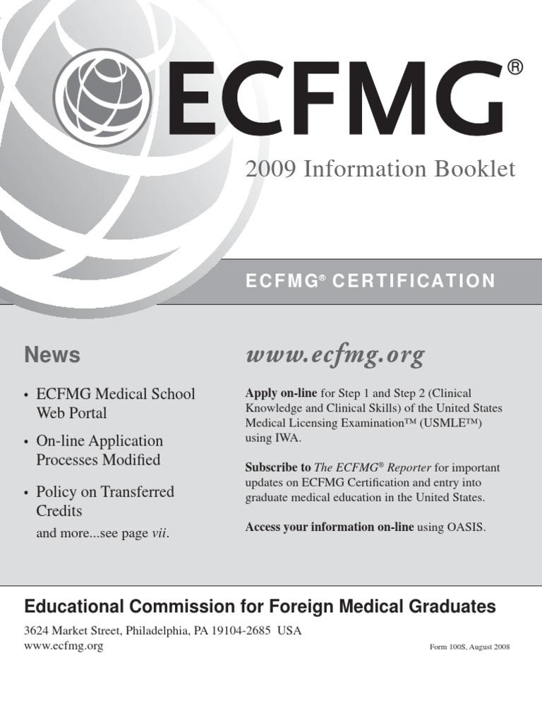 2009ib United States Medical Licensing Examination Medical School