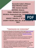 TRATADO DE CORDOBA