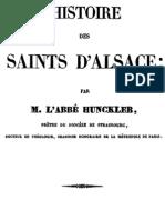Histoire Des Saints d Alsace