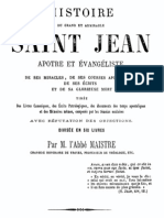 Histoire Du Grand Et Admirable Saint Jean