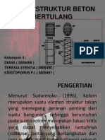 Kolom Struktur Beton Bertulang