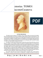 Casanova Memorias 1