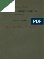 Figari, Pedro - Educación y arte (Clásicos uruguayos, nº 81, 1965)