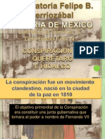 Conspiracion de Queretaro e Hidalgo