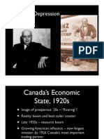 Canada 1930s Depression