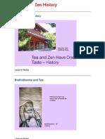 2 Tea and Zen History