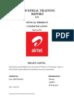 Report on Optical Fiber In Communication
