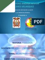 NEUROTRANSMISORES-FISIOLOGIA