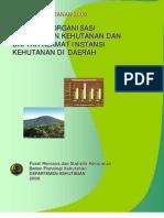 Booklet StrOrg 2008-KementerianKehutanan