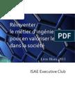Livre Blanc ISAE Executive Club 2011