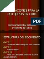 Orientaciones Para La Catequesis en Chile