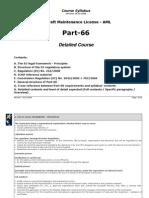Syllabus Part66 Detailed 081028