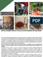 6.- Nuevas energías urbanas el caso de la bici maquinas de maya pedal