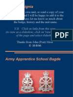 Regiments and Insignia