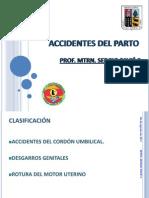 Accidentes Del Parto 2011