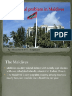 Social Issues in Male' Capital of Maldives